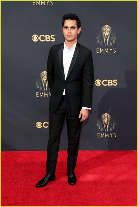 Max Minghella at the Emmy Awards 2021