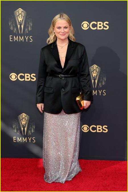 Amy Poehler  at the Emmy Awards 2021