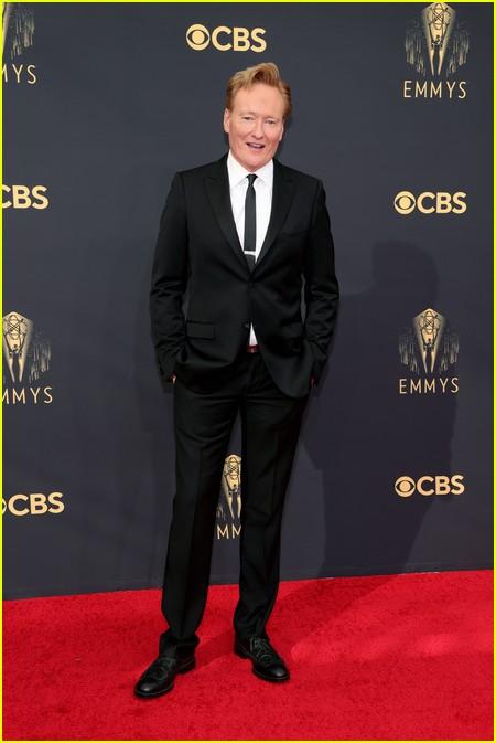 Conan O'Brien at the Emmy Awards 2021