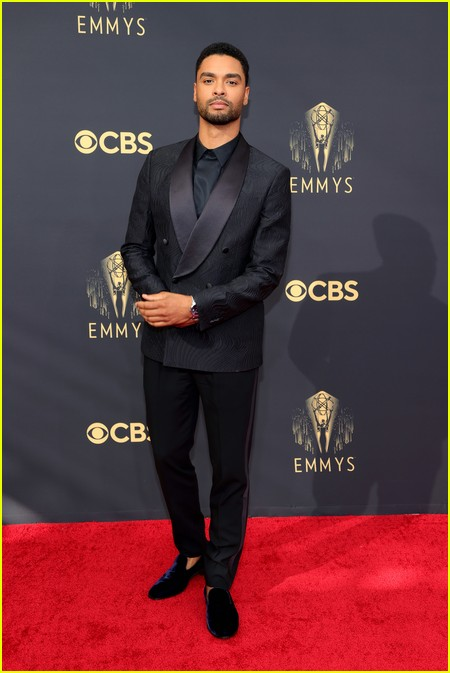 Rege-Jean Page at the Emmy Awards 2021