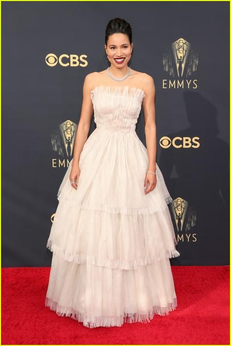 Jurnee Smollett  at the Emmy Awards 2021