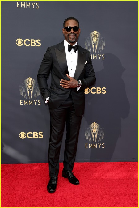 Sterling K. Brown at the Emmy Awards 2021