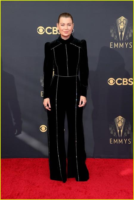 Ellen Pompeo at the Emmy Awards 2021
