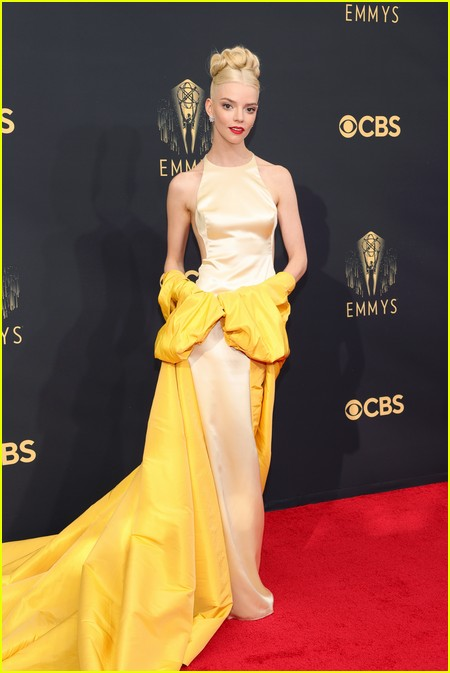 Anya Taylor-Joy at the Emmy Awards 2021