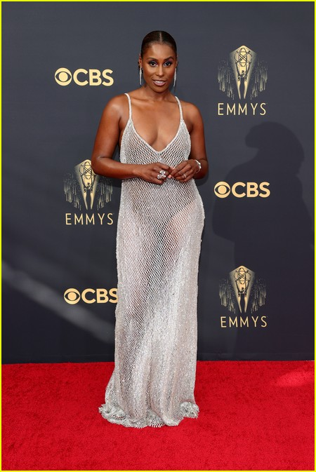 Issa Rae at the Emmy Awards 2021