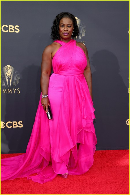 Uzo Aduba at the Emmy Awards 2021