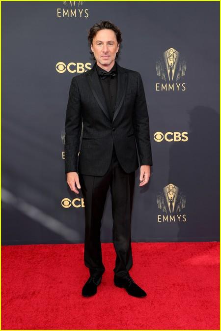 Zach Braff at the Emmy Awards 2021