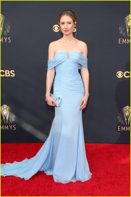 Caitlin Thompson at the Emmy Awards 2021