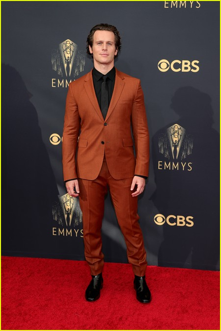 Jonathan Groff at the Emmy Awards 2021