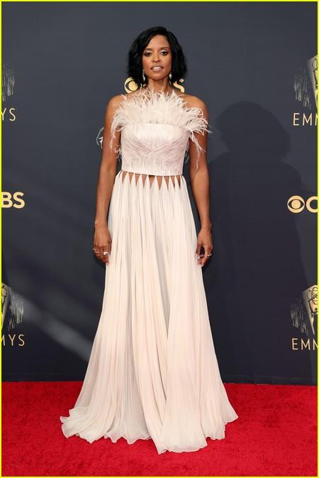 Renee Elise Goldsberry at the Emmy Awards 2021