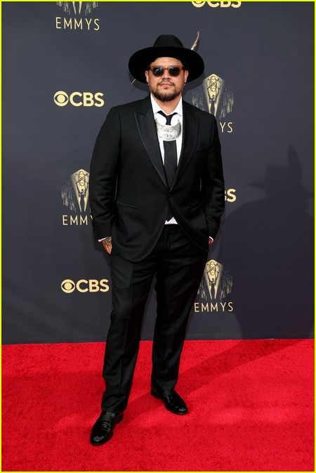 Sterlin Harjo at the Emmy Awards 2021