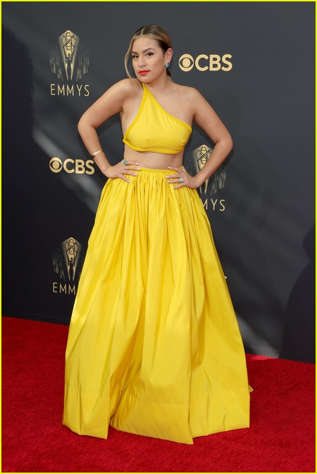 Paulina Alexis at the Emmy Awards 2021