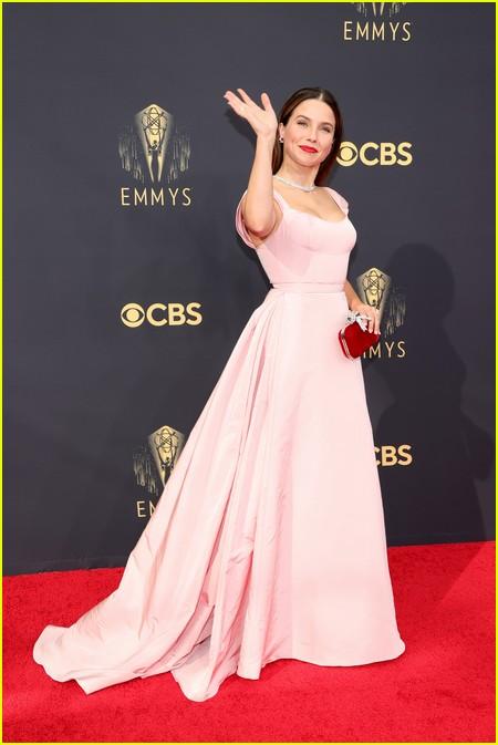 Sophia Bush at the Emmy Awards 2021