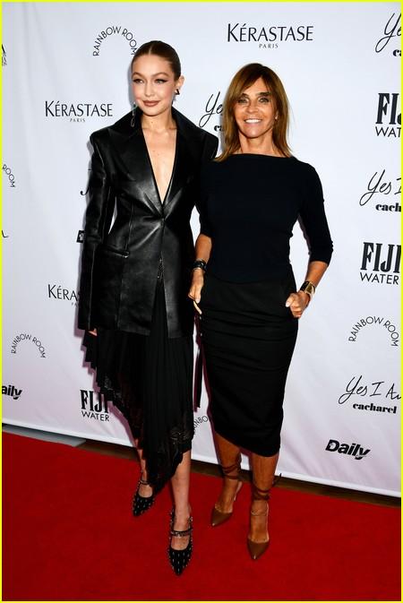 Carine Roitfeld at The Daily Front Row Fashion Media Awards 2021