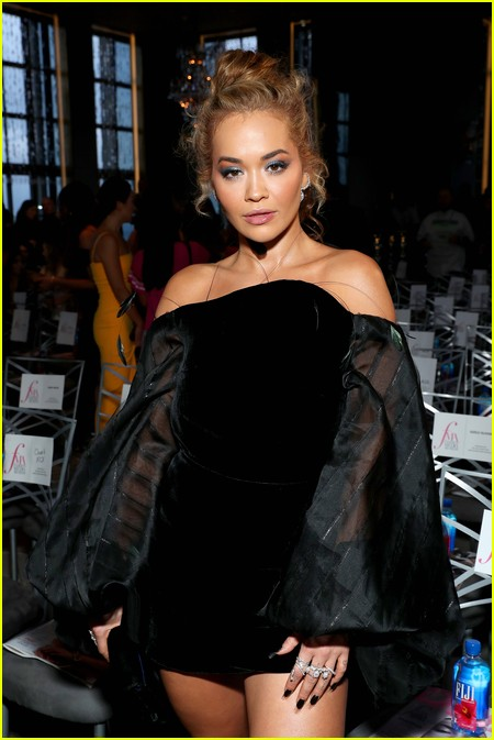 Rita Ora at The Daily Front Row Fashion Media Awards 2021