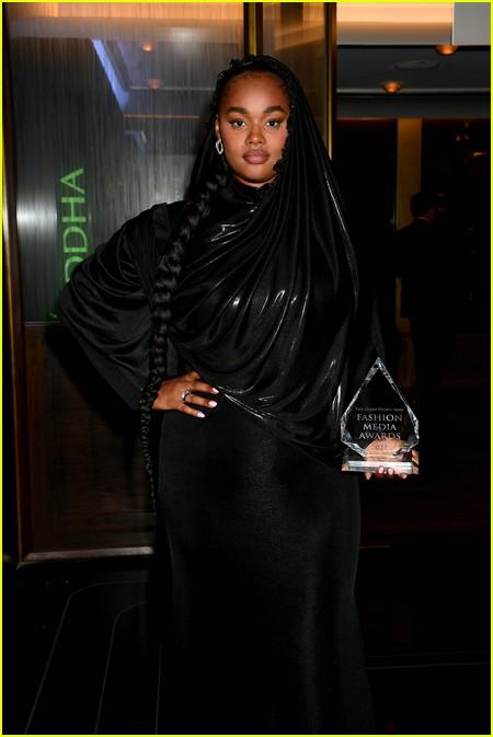 Precious Lee at The Daily Front Row Fashion Media Awards 2021