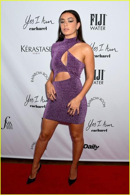 Charli XCX at The Daily Front Row Fashion Media Awards 2021