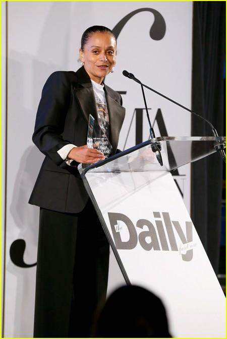 Samira Nasr at The Daily Front Row Fashion Media Awards 2021