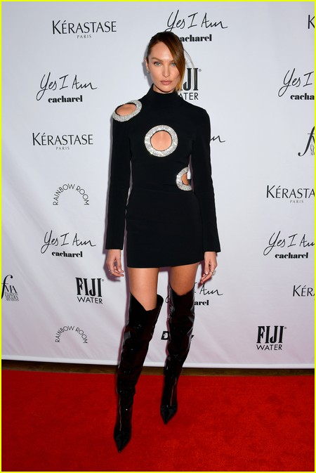 Candice Swanepoel at The Daily Front Row Fashion Media Awards 2021