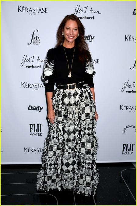 Christy Turlington at The Daily Front Row Fashion Media Awards 2021