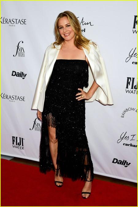 Alicia Silverstone at The Daily Front Row Fashion Media Awards 2021