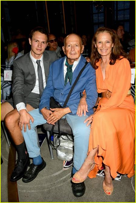 Ansel Elgort at The Daily Front Row Fashion Media Awards 2021