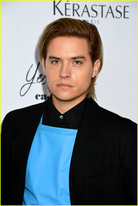 Dylan Sprouse at The Daily Front Row Fashion Media Awards 2021