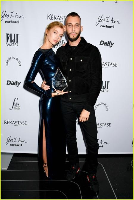 Julia Restoin Roitfeld at The Daily Front Row Fashion Media Awards 2021