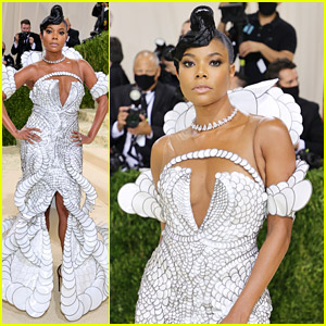 Gabrielle Union's Met Gala Dress Took 1400 Hours To Make!