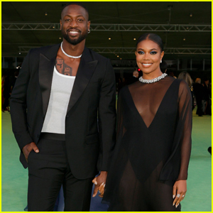 Gabrielle Union Wears Sheer Dress to Academy Museum of Motion Pictures Opening Gala with Dwyane Wade
