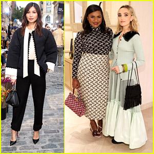 Eternals' Gemma Chan Joins Mindy Kaling, Emily Ratajkowski & More at Tory Burch Fashion Show