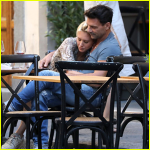 Frank Grillo & Girlfriend Nicky Whelan Enjoy a Romantic Getaway in Florence