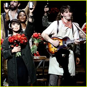 Broadway Couple Reeve Carney & Eva Noblezada Reopen Their Musical 'Hadestown' - See Photos!
