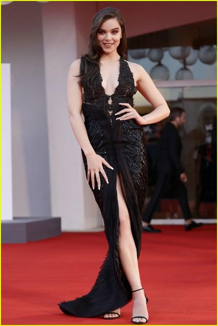 Hailee Steinfeld at the Venice Film Festival