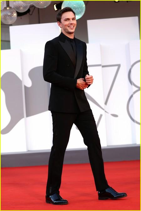 Nicholas Hoult at the Venice Film Festival