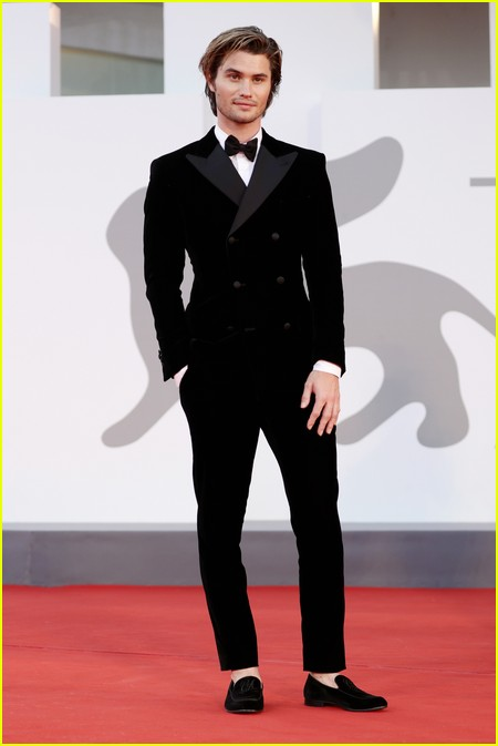 Chase Stokes at the Venice Film Festival