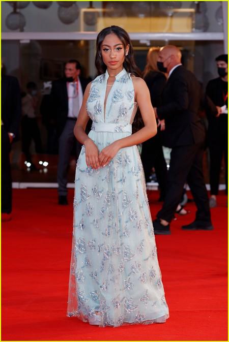 Lexi Underwood at the Venice Film Festival