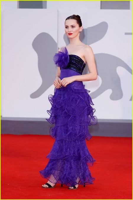 Maude Apatow at the Venice Film Festival
