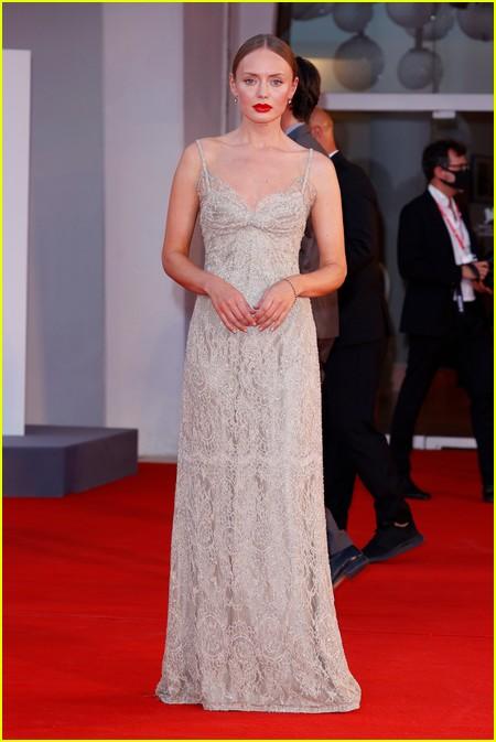 Laura Haddock at the Venice Film Festival
