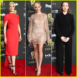Hannah Waddingham, Hannah Einbinder & Madeline Brewer Step Out For Emmy Nominees Reception