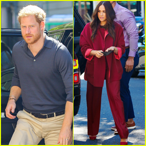 Prince Harry & Meghan Markle Visit a School in Harlem & Read Her Children's Book to the Kids!