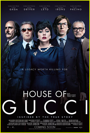 Lady Gaga Leads Powerful New Poster For 'House of Gucci' With Adam Driver & Jared Leto