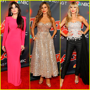 Idina Menzel Hits AGT Finale Red Carpet After Powerhouse Performance