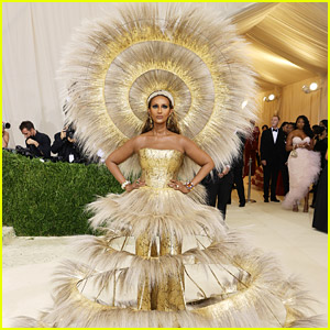 Iman Is A Ray of Sunshine at Met Gala 2021