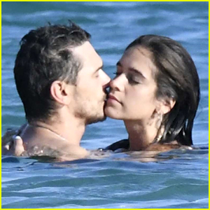 James Franco Enjoys a Steamy Beach Day with Girlfriend Isabel Pakzad in Greece