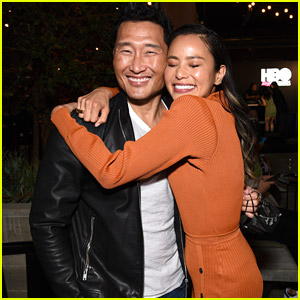 Jamie Chung & Daniel Dae Kim Hug It Out During HBO's APA Visionaries Party