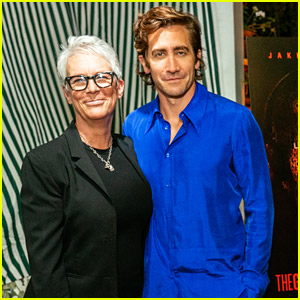Jamie Lee Curtis Hosts A Panel For Godson Jake Gyllenhaal's New Movie 'The Guilty'