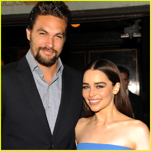 Emilia Clarke Says Jason Momoa Got Her 'As Drunk as Humanly Possible' During Their Reunion