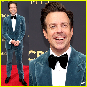 Jason Sudeikis Arrives for Emmys 2021, Could Have a Huge Night Full of Wins!