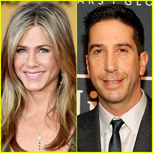 Jennifer Aniston Responds to Those David Schwimmer Romance Rumors